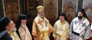 Intronisation du nouvel archevêque de Grande-Bretagne