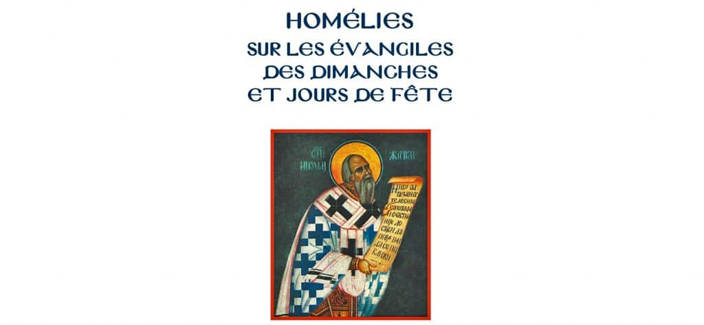 Notes on the Gospel Homilies by St. Nikolai Velimirovich