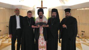 Visite d'une délégation du Patriarcat de Constantinople au Vatican