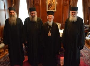 Ecumenical Patriarch will visit Mount Athos in October