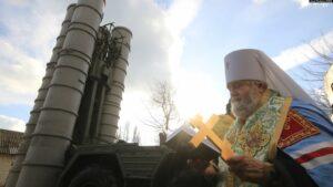 On considère dans l'Église orthodoxe russe que l'on ne doit pas bénir les armes de destruction massive