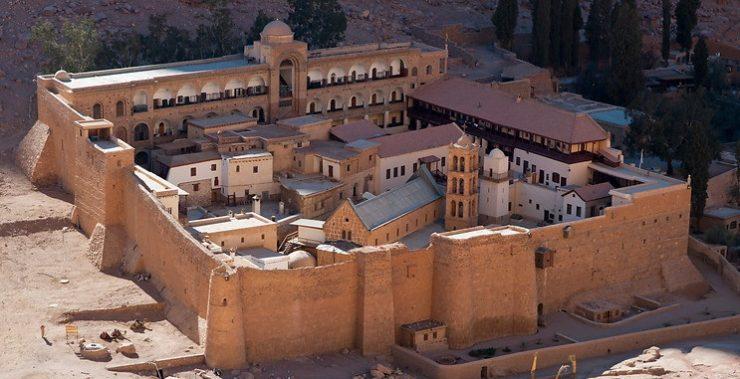Achèvement des travaux de restauration au monastère Sainte-Catherine