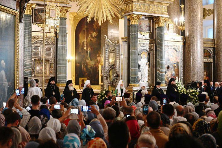 Homélie du patriarche de Moscou Cyrille lors des vigiles de la Transfiguration
