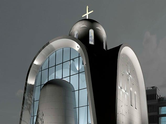 The Russian Orthodox Church criticizes the project of 'futuristic' church in Moscow