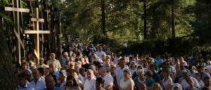 Fête de la Transfiguration du Seigneur sur le Mont Grabarka (Pologne)