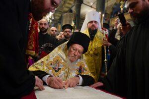 Le métropolite Épiphane, primat de la nouvelle Église autocéphale ukrainienne, recevra le « prix Athénagoras 2019 des droits de l'homme »