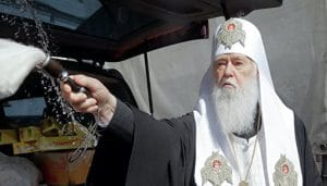 Filaret calls on his flock to protest against Epiphany