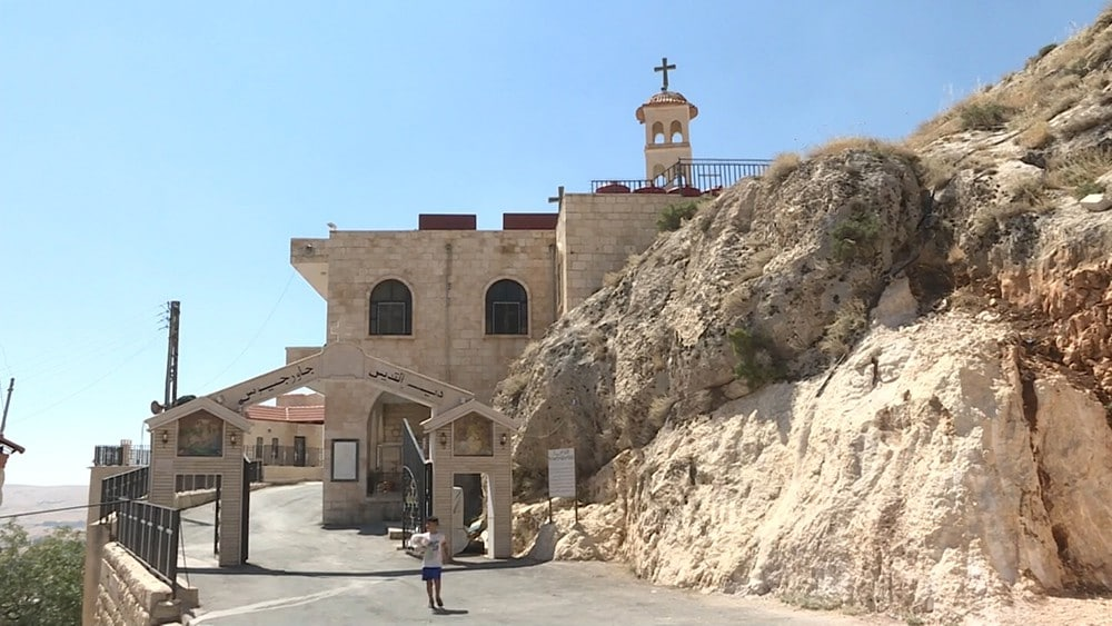 Orthodox monastery being repaired, expanded in Syrian city of Saidnaya