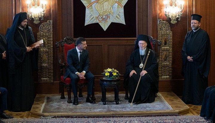 Le président ukrainien Zelensky : « Le pouvoir ne doit pas s'immiscer dans les affaires ecclésiastiques »