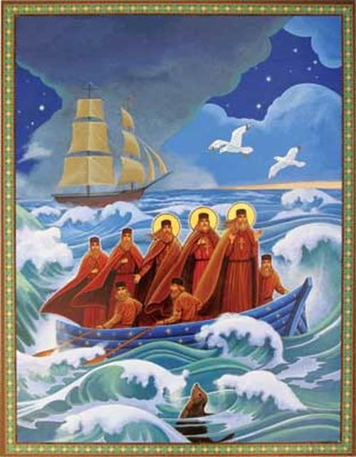 Commémoration du 225e anniversaire de l'arrivée des missionnaires orthodoxes en Alaska