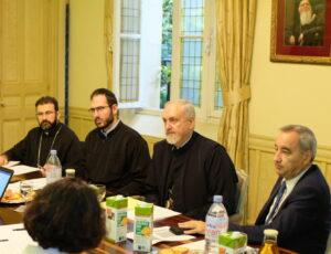 La réunion du CECEF à la Métropole grecque orthodoxe de France