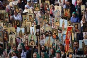 115 000 fidèles ont participé à la procession en l'honneur de saint Alexandre de la Neva à Saint-Pétersbourg