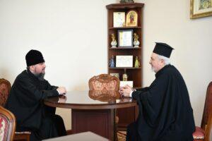 Le métropolite de France Emmanuel a rencontré le métropolite Épiphane, de la nouvelle Église autocéphale d'Ukraine