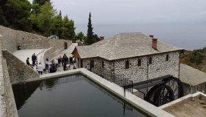 Sur le Mont Athos a été restauré le moulin où travaillait saint Silouane