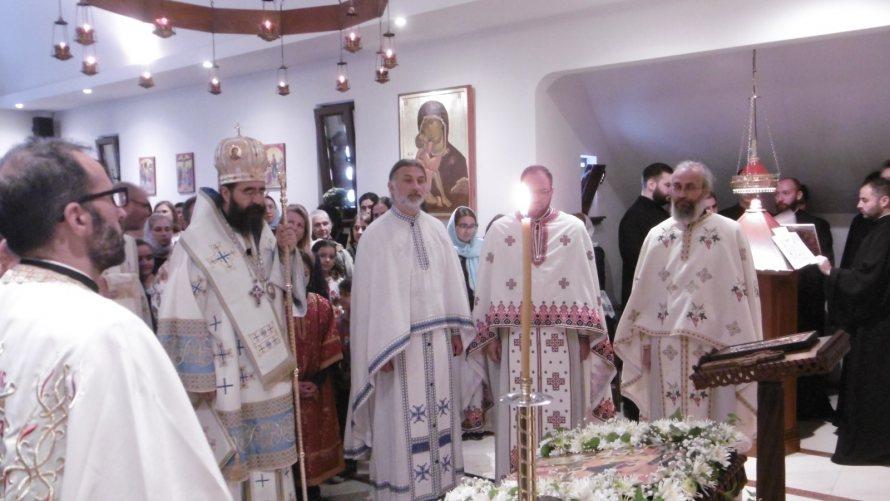 Fête du monastère orthodoxe roumain de Namur