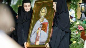 Les reliques de saint Georges le Pèlerin sont arrivées à Bucarest