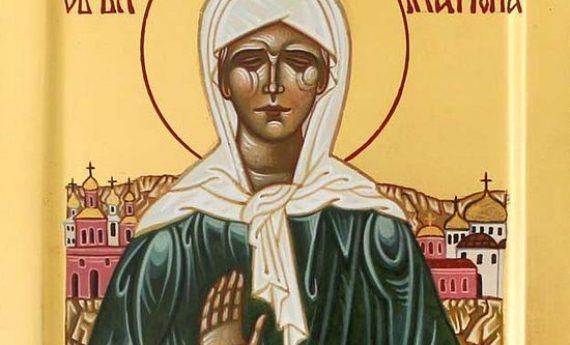 Russian TV series on St. Matrona available with English subtitles on YouTube