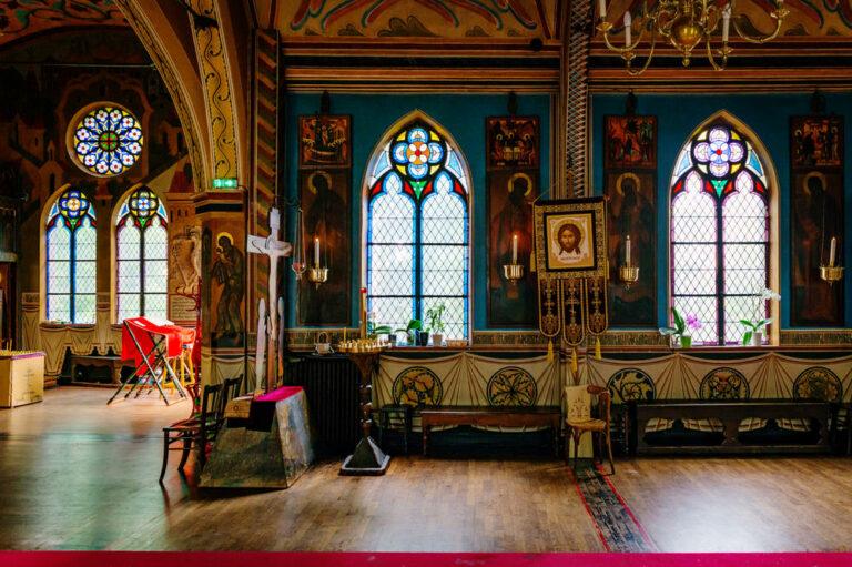 «Ces bâtiments qui nous intriguent : l'église Saint-Serge» à Paris