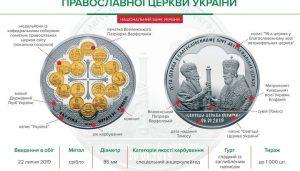 Les pièces de monnaie commémoratives du tomos n'ont pas trouvé d'acquéreurs en Ukraine