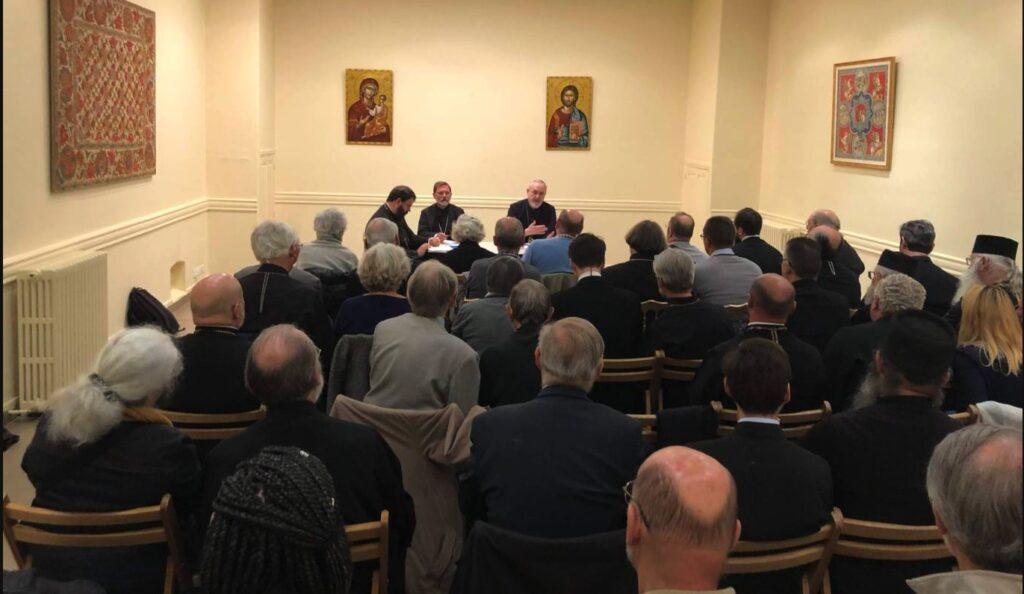 Une rencontre à Paris avec des clercs et des laïcs de l'ancien exarchat des paroisses de tradition russe en Europe occidentale