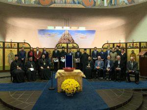 Cérémonie du Dies Academicus de l'Institut d'études supérieures en théologie orthodoxe à Chambésy