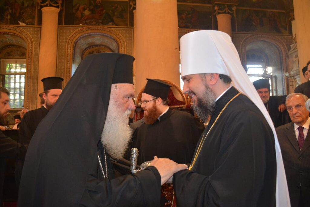 Metropolitan Epiphanes thanks the Church of Greece