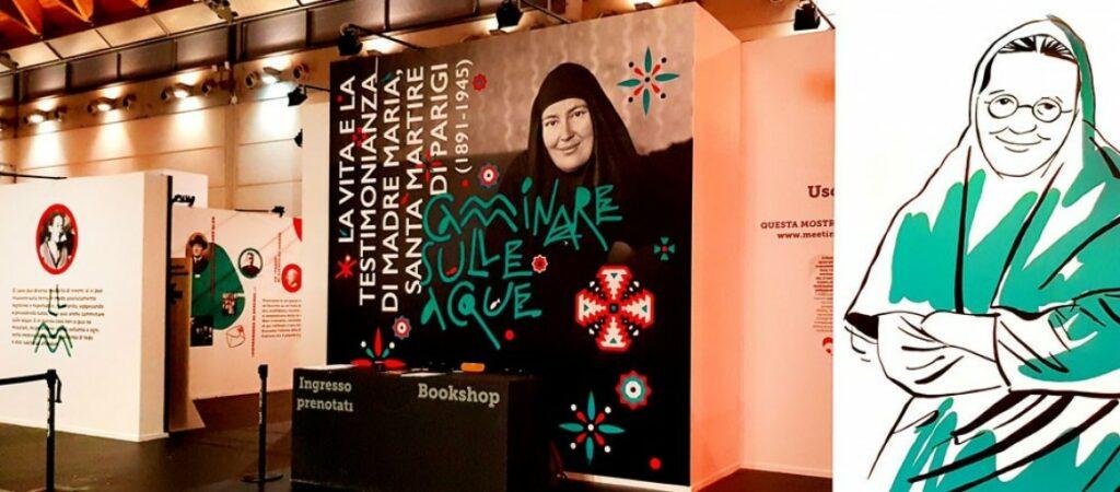 Un reportage sur l'exposition consacrée à Mère Marie Skobtsov, à Rimini en Italie en août 2019