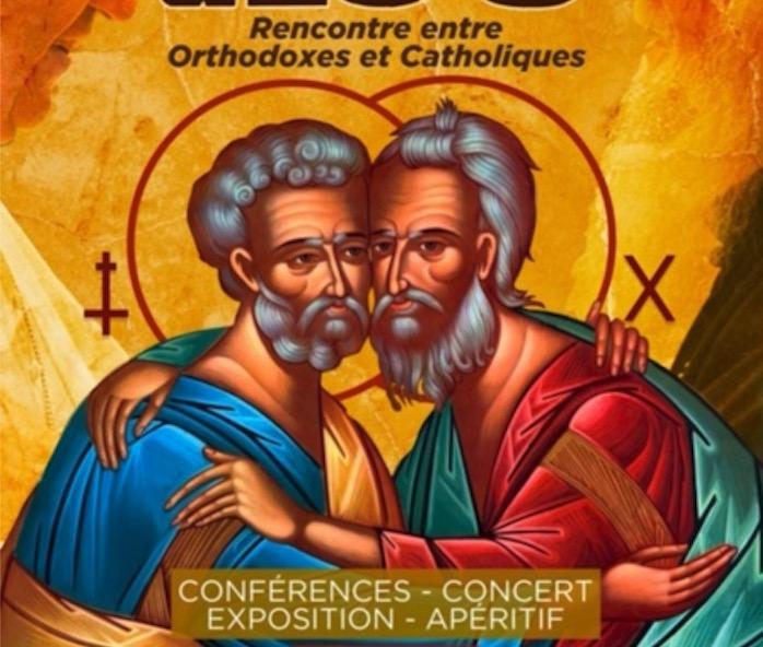 Une rencontre entre orthodoxes et catholiques le vendredi 18 octobre à Montpellier