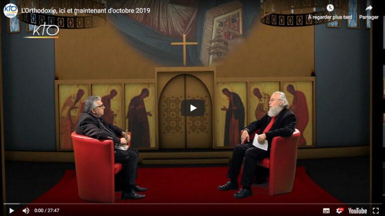 L'émission «L'orthodoxie, ici et maintenant»  (KTO) d'octobre: Georges Florovsky