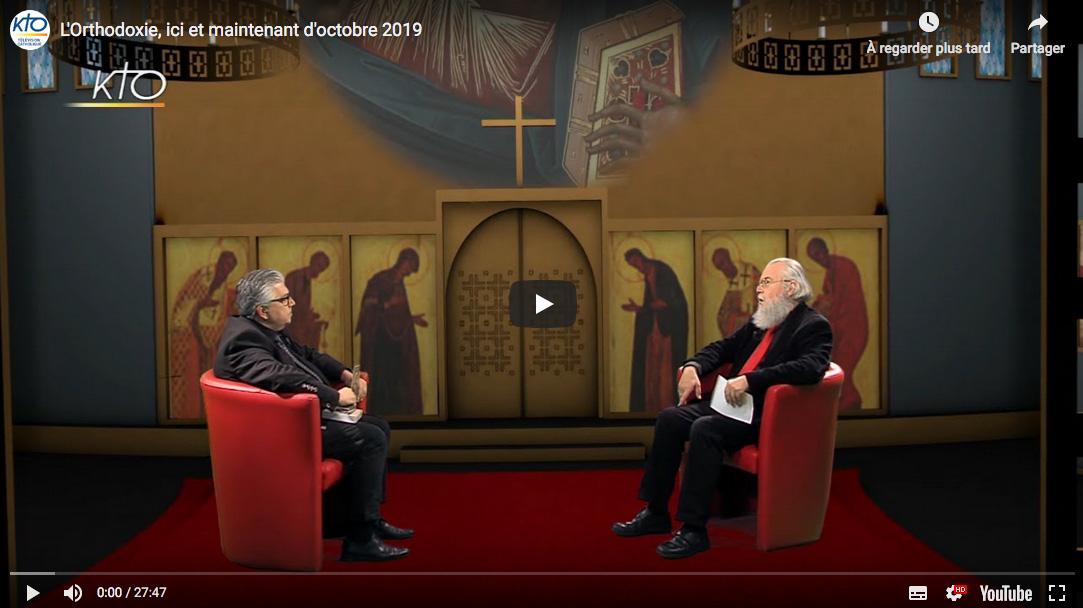 L'émission «L'orthodoxie, ici et maintenant»  (KTO) d'octobre: «La vie et l'œuvre du Père Georges Florovsky»