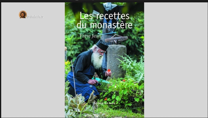 Présentation du livre « Les recettes du monastère » par frère Jean