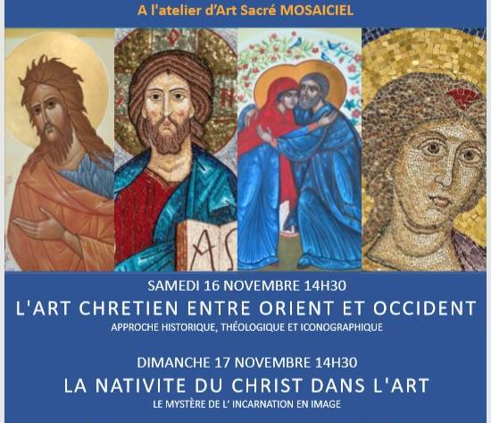 Rencontre «L'art et le sacré», les 16 et 17 novembre