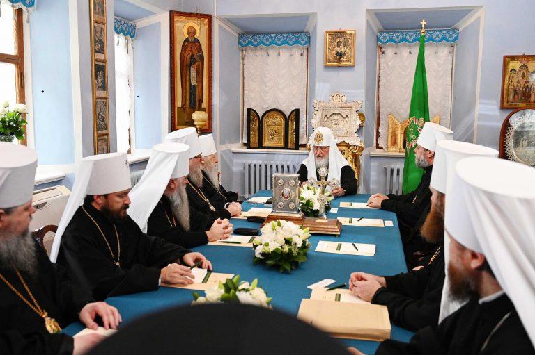 Décision du Saint-Synode du Patriarcat de Moscou au sujet de la réception de l'Archevêché des paroisses de tradition russe en Europe occidentale