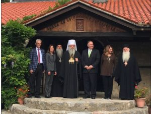 Mike Pompeo a rencontré le chef de « l'Église orthodoxe de Macédoine »