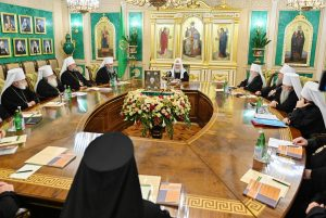 Statement of the Holy Synod of the Russian Orthodox Church