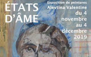 «États d'âme» – exposition de Valentine Alevtina