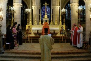 Vêpres orthodoxes à Saint-Germain l'Auxerrois