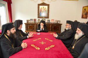 Rencontre à Bruxelles du Patriarche Bartholomée avec le Conférence épiscopale orthodoxe du Benelux