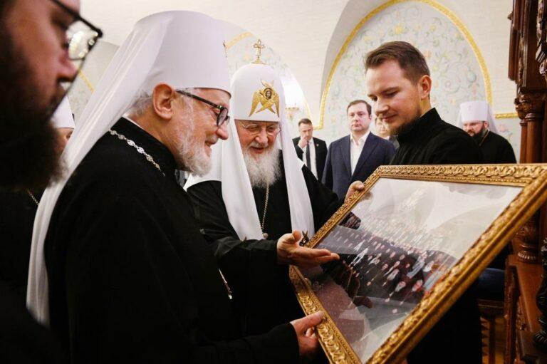 La fin du séjour en Russie de la délégation de l'Archevêché des paroisses de tradition russe en Europe occidentale