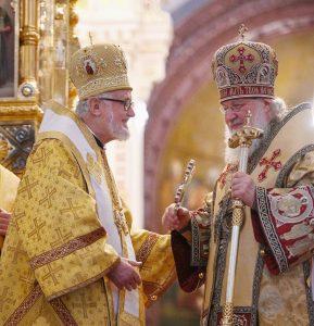 La vidéo de la liturgie célébrée dimanche à la cathédrale du Christ-Sauveur à Moscou