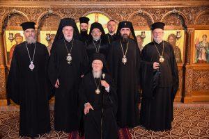 Le patriarche Bartholomée a rencontré les membres du Comité des représentants des Églises orthodoxes auprès de l'Union européenne