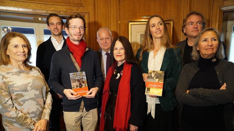 Le P. Alexandre Siniakov a reçu le prix littéraire 30 millions d'amis