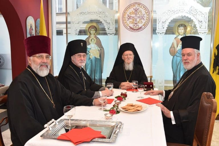 L'archevêque de Bruxelles et de Belgique Simon (Patriarcat de Moscou) s'explique sur sa rencontre avec le patriarche de Constantinople Bartholomée