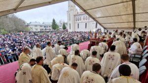 Le dernier grand pèlerinage de l'année 2019 en Roumanie a rassemblé 15 000 personnes