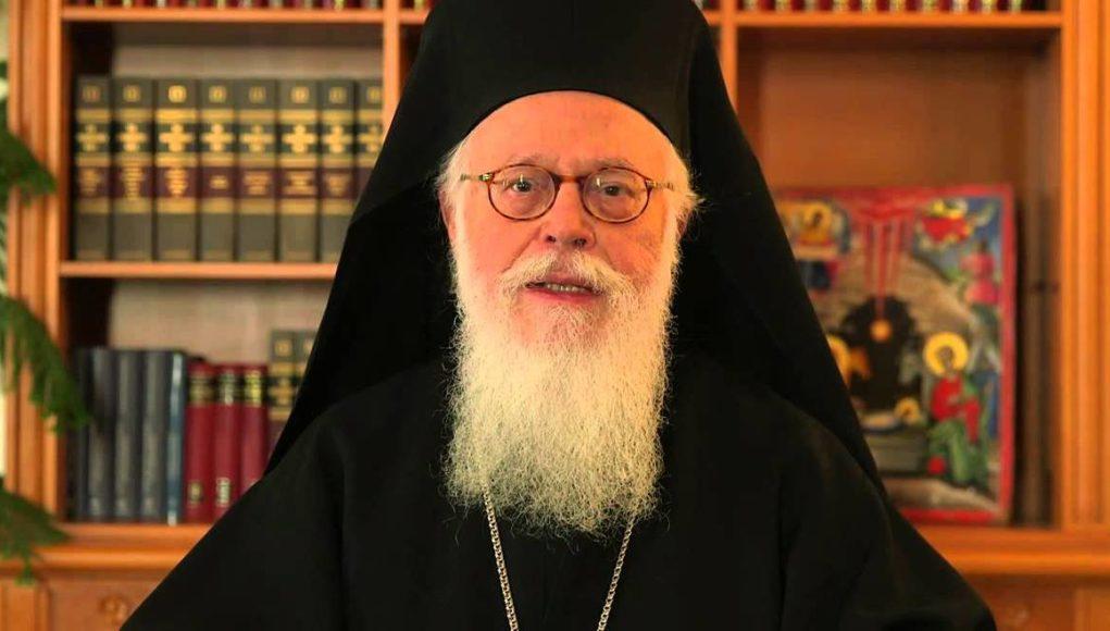 Message de Noël de l'archevêque Anastase de Tirana et de Durrës, primat de l'Église orthodoxe d'Albanie