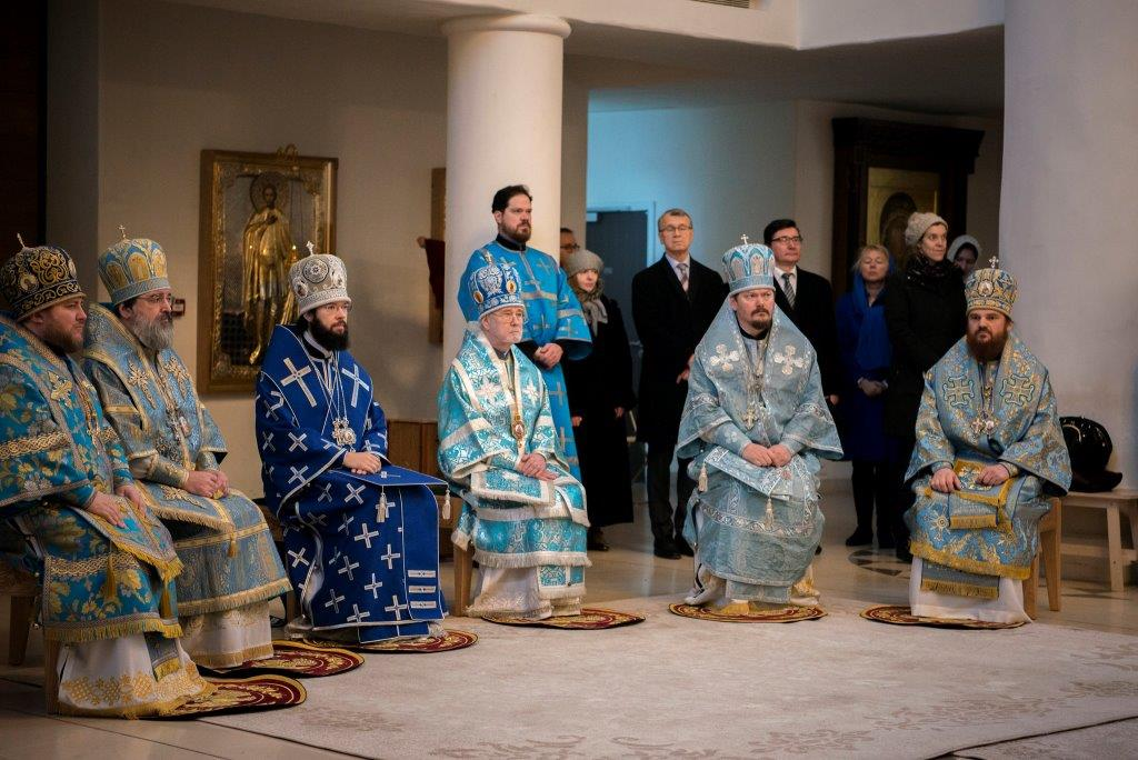 Première réunion du Saint-Synode de l'exarchat du Patriarcat de Moscou en Europe occidentale à Paris