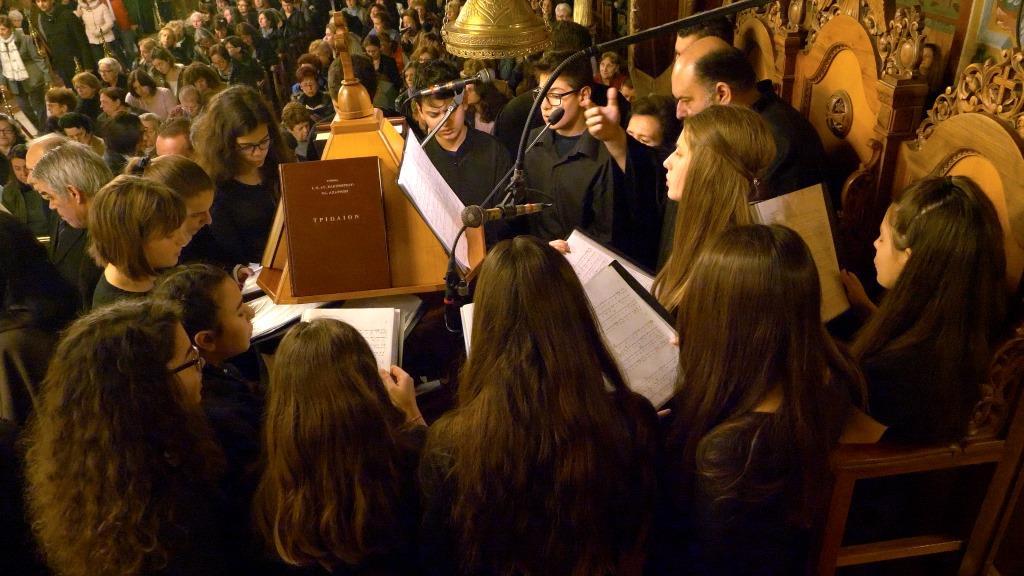 Le chant byzantin a été inscrit au patrimoine immatériel de l'humanité par l'Unesco