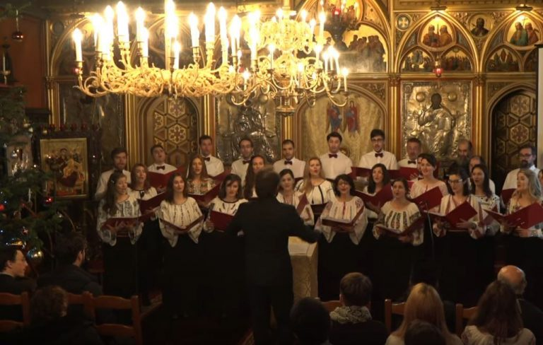 Un concert de chants traditionnels roumains de Noël (vidéo)