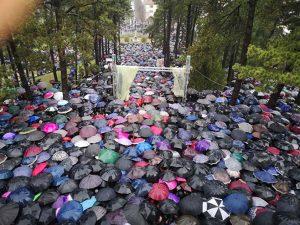 Des milliers de fidèles se sont rassemblées à Nikšić pour protester contre le nouveau projet de loi de nationalisation des biens ecclésiastiques orthodoxes au Monténégro