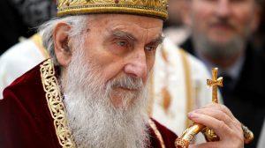 Appel du patriarche de Serbie Irénée à la cessation de la terreur exercée à l'encontre de l'Église et du peuple au Monténégro